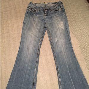 Denim - Comfortable boot cut jeans